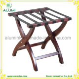 Folding Wooden Luggage Rack, Classic Hotel Room Luggage Rack