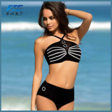 Black Fashion Two Pieces Triangle Bikini Swimwear Swimsuit