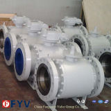 API 6D Side Entry Trunnion Mounted Ball Valves