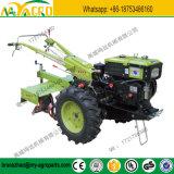 12 HP 2 Wheels Farm Mini Hand Walking Tractor with Power Tiller