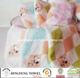 100% Cotton Velour Embroidery Baby Towel