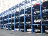 3 Level Automated Puzzle Parking Sliding Lifting Parking System