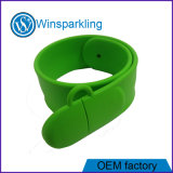 Silicone Wristband USB Flash Drive with Full Capacity