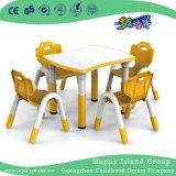 Kindergarten Children Wooden Trapezoidal Table Desk Furniture (HG-4803)