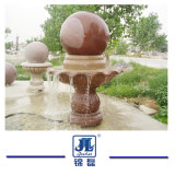 Natural Granite/Marble Carving Water Fountain/Ball Customize G603 Grey Granite Ball Fountain for Outdoor Decoration Garden/Wall/Outdoor/Yard/Plaza