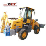 Loader Crane Tractor with Hydraulic Cylinder and Different Attachments
