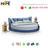 New Fashion Round Fabric Bed of 2018 (HC-E857)