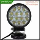 Cheap LED Work Light 12V 4 Inch 42W Round Auto Working Lights Tractor