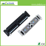 Lk5PP1202u118 Cat5e UTP Patch Panel (Wall Mount)