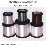 Wholesale Customize Different Diameters Multi Colors Economic Level T015 Monofilament Nylon Fishing Line 08c-T015