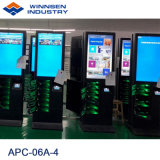 Hotel Fast Mobile Phone Charging Ststion with Large Advertising Screen