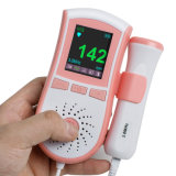Ce Approved Color LCD Display Pocket Fetal Doppler Prenatal Heart Baby Heart Monitor 3MHz Probe Manufacturer