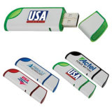 Plastic USB Flash Drive for Promotional Gifts with Printing Logo