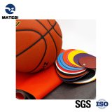 Good Quality and Competitive Price Colorful PU Synthetic Artificial Leather for Basketball