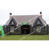10X5X5m Hot Sale Inflatable Pub, Outdoor Portable Inflatable Irish Bar Tent, Custom Make Party Tent