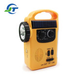 Camping Multi-Tool Solar Dynamo Rechargeable Hand Crank Radio Flashlight