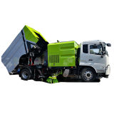 China HOWO Dongfeng Low Price Water Spray Vacuum Cleaner 11-14m3 Truck Sweeper 4X2 Street Cleaning Sweeping Truck