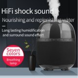 The Latest Fashion in 2021 Electric Cool Mist Aromatherapy Diffuser Ultrasonic 260ml Air Humidifier with Dps Speaker