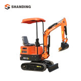 1 Ton Mini Digger China Cheap Hydraulic Backhoe Mini Excavator Manufacturer Hydraulic Excavator