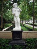 Lifelike Garden Decoration Angel Figure Statue Marble Stone Sculpture (SYMS-182)