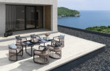 Modern Whole Aluminum Dining Chair and Table Outdoor Garden Furniture