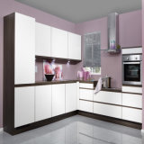 U Shape White Matt Lacquer Modern Furniture Home Wood Kitchen for Australia Market (ACS2-L322)