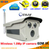 Wireless IR 1.0 Megapixel Onvif WiFi P2p Network IP Camera