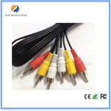 Hot Selling 3 RCA to 3 RCA AV RCA Cable for CCTV Cable