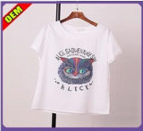 Fashion Nice Printed T-Shirt for Women (W219)