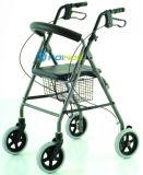 Ar04 Hot Selling Four Wheeled Aluminum Walker Rollator