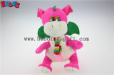 "China Manufacturer Pink Stuffed Dinosaur Animal Toy with Scarf in 10"" Sizebos1199"