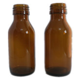 Amber Essential Oil Glass Bottle