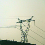 500 Kv Angle Steel Transmission Tower (Linear tower)