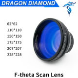 62 110 150 175 207 228 F100-330mm F-Theta Scan Lens with Mount M85X1 for Fiber Laser Marking Machine