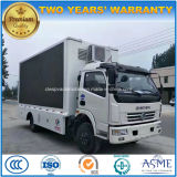 Dongfeng 6 Wheels High Quality Outdoor LED Advertising Truck