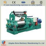 Hard Surface Gear Reducer Two Roll Rubber Open Mixing Mill