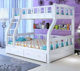 Solid Wooden Bed Room Bunk Beds Children Bunk Bed (M-X2211)