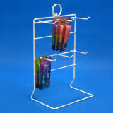 Table 6 Pegs Steel Wire Merchandise Hanging Display Stand (PHY1013)