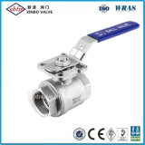 Ss Ball Valve with ISO5211 Mounting Pad