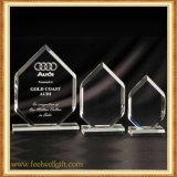 Custom Blank Crystal Glass Trophy