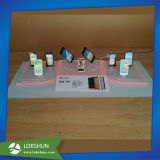 LED Light Counter Top Acrylic Mobile Phone Display Shelf