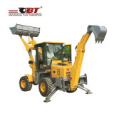 4 Wheel Drive Garden Tractor with Front End Loader for Hot Sale