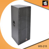 Dual 15 Inch PA System Loud Speaker for Stage Ws-215