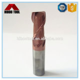 Good Price Tisin Copper Color Coated Sqaure Carbide Cutter with 2 Flutes