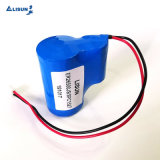 Professional 3.6V Er26500 C Size 9000mAh Lisun Lithium Thionyl Chloride Battery with Wire&Connector