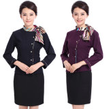 Custom Slim Fit Hotel Staff Uniforms Wholesale