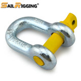 Electric Galvanized U Shaped Shackle Us Type Steel Drop Forged Screw Pin D Shackle
