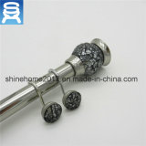 Wall-Mounted Iron Chrome Plated Bathroom Fitting Shower Curtain Rod/Curtain Accessory Shower Curtain Rod