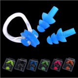 OEM Silicone Waterproof Earplug Nose Clip Suit for Swimming