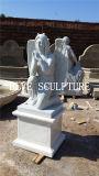 Price Marble Stone Carving Decoration Praying Angel Statue Sculpture Mfsg-86